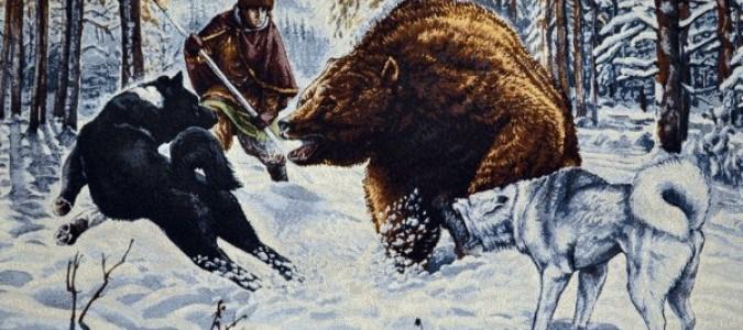 Охота с таксой на медведя